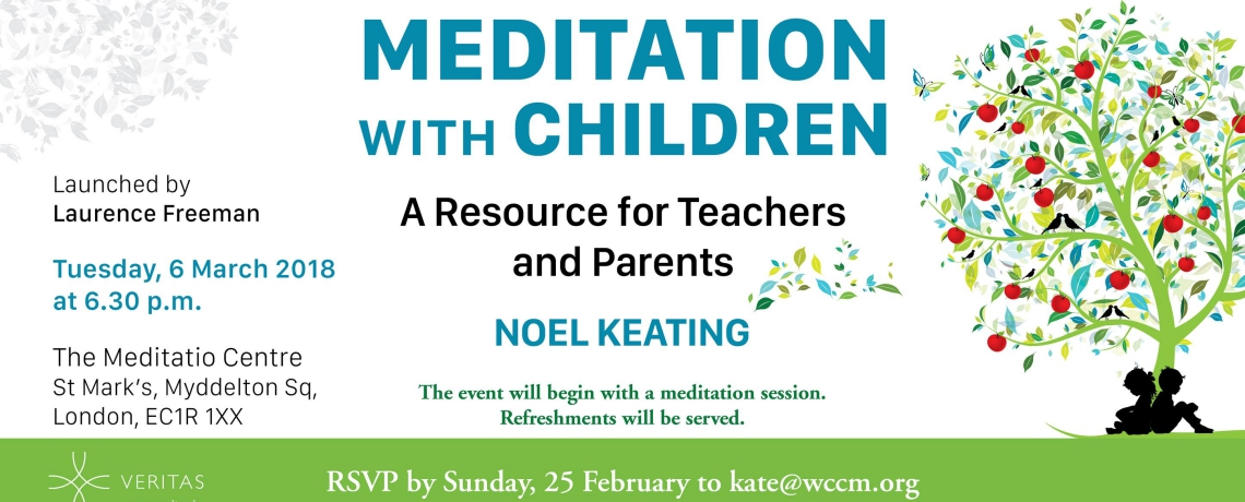 Book Launch: Meditation with Children – A Resource for Teachers and Parents