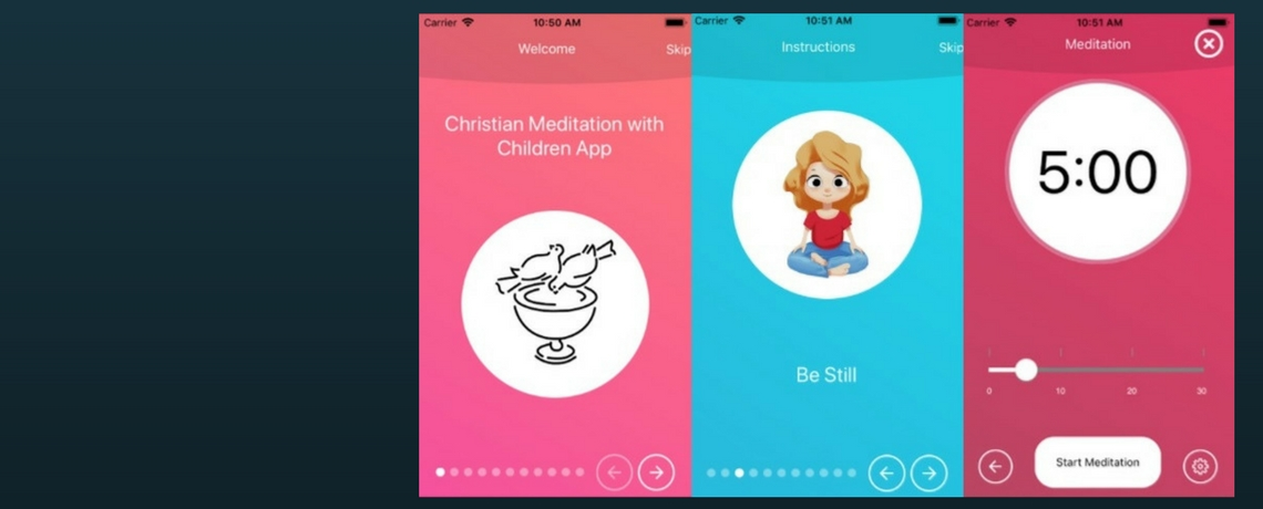 New app for Christian Meditation with Children