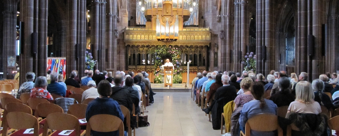 Interfaith Meditation for Peace at Manchester Cathedral