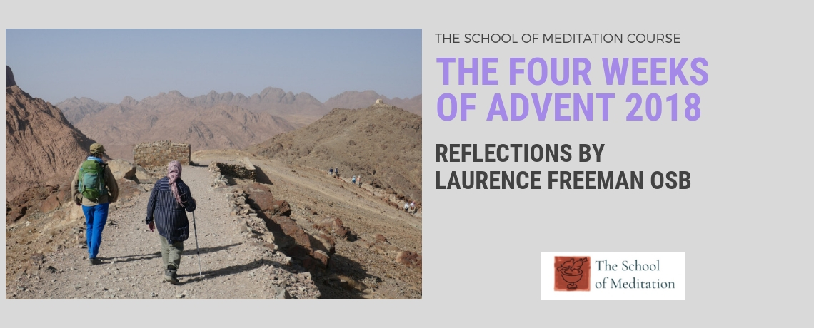 Course by The School of Meditation: The Four Weeks of Advent 2018